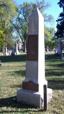 Confederate Soldiers Monument image. Click for full size.