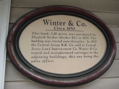 Winter & Co. Marker image. Click for full size.
