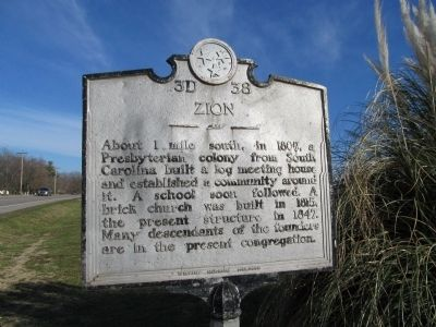 Zion Marker image. Click for full size.