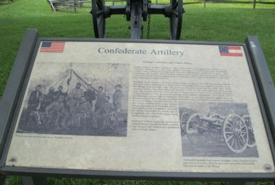 Confederate Artillery Marker image. Click for full size.