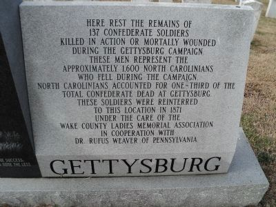 Confederate Soldiers Memoial Marker image. Click for full size.
