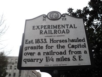 Experimental Railroad Marker image. Click for full size.