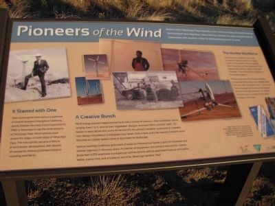 Pioneers of the Wind - Panel 2 image. Click for full size.