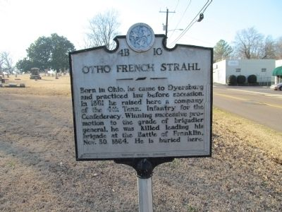 Otho French Strahl Marker image. Click for full size.
