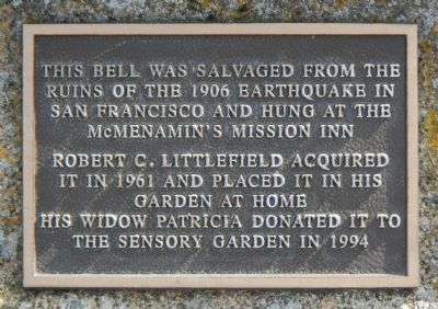 Earthquake Bell Marker image. Click for full size.