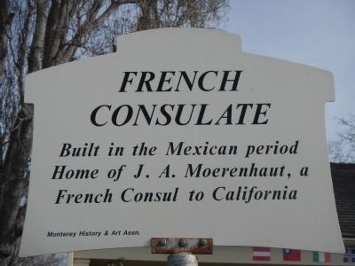 French Consulate Marker image. Click for full size.
