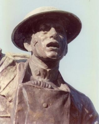 Rusk County World War I Memorial Marker image. Click for full size.