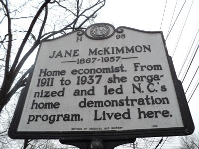 Jane McKimmon Marker image. Click for full size.
