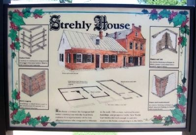 Strehly House Marker image. Click for full size.