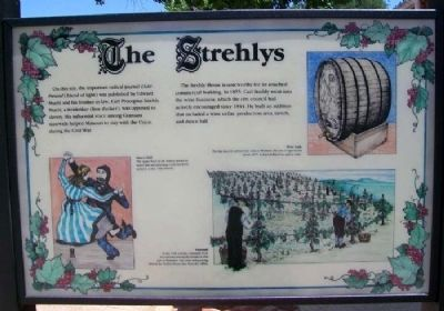 The Strehlys Marker image. Click for full size.