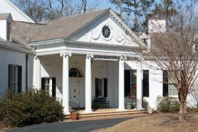 Aiken County Museum North entrance image. Click for full size.