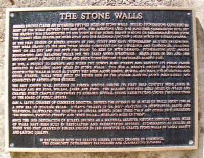 The Stone Walls Marker image. Click for full size.