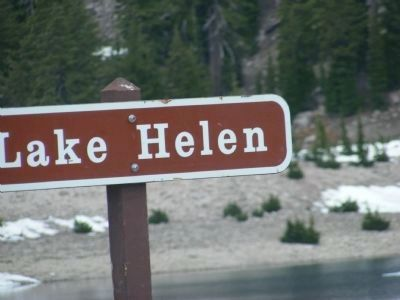 Located at the Lake Helen Turnout image. Click for full size.
