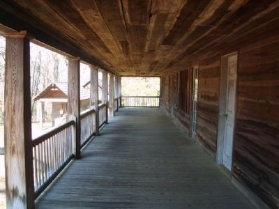 Traveler&#39;s Rest State Historic Site<br>Front Porch image. Click for full size.