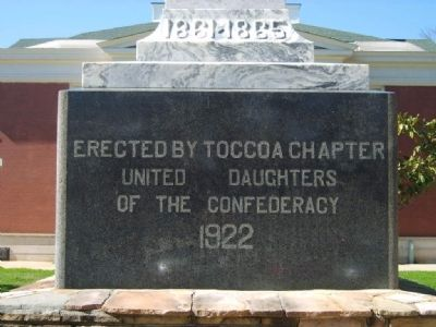 Stephens County Confederate Monument Marker image. Click for full size.