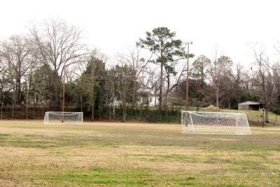 Fuller Park and today's soccer field image. Click for full size.