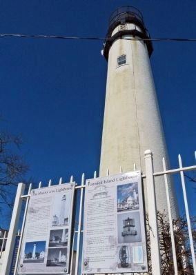 Fenwick Island Lighthouse Marker image. Click for full size.