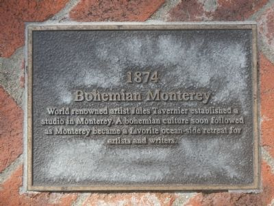 Monterey History Time Line Marker - 1874 – Bohemian Monterey image. Click for full size.
