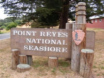 Sign at the Entrance to Point Reyes National Seashore image. Click for full size.
