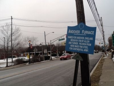 Andover Furnace Marker image. Click for full size.