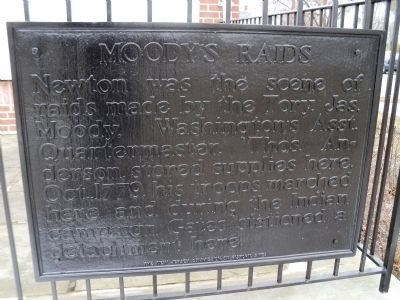 Moody's Raids Marker image. Click for full size.