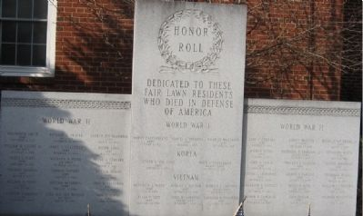 Fair Lawn Honor Roll image. Click for full size.