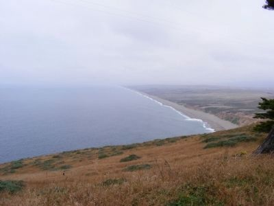 A View of the Coastline From Near the Marker image. Click for full size.