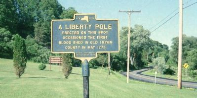 A Liberty Pole Marker image. Click for full size.