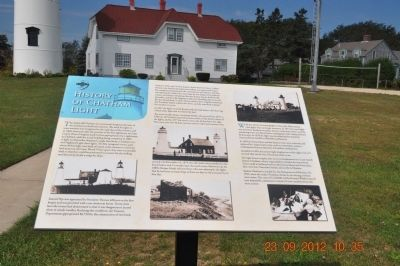 History of Chatham Lighthouse Marker image. Click for full size.