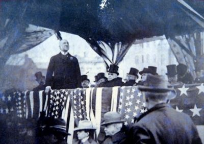 McKinley at Logan Memorial Dedication image. Click for full size.