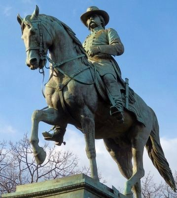 Franklin Simmons' Equestrian Statue of John A. Logan image. Click for full size.