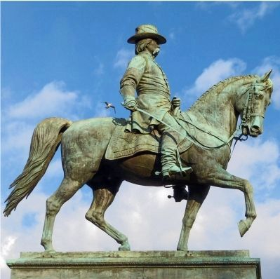 Equestrian Statue of John A. Logan image. Click for full size.