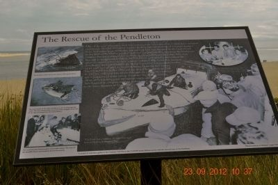 The Rescue of the Pendleton Marker image. Click for full size.