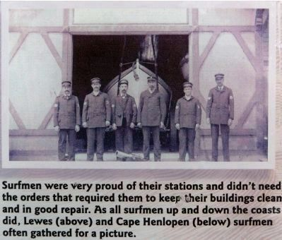 Cape Henlopen Surfmen image. Click for full size.