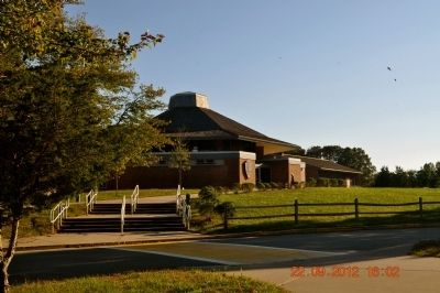 Salt Pond Visitor Center in Cape Cod image. Click for full size.
