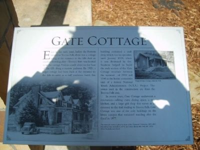 Gate Cottage Marker image. Click for full size.