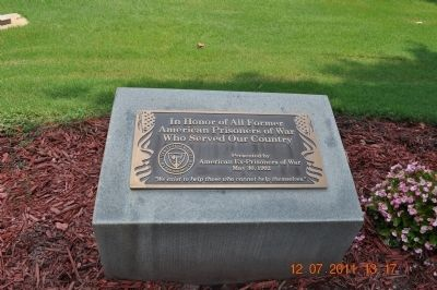 Memorial to Former American Prisoners of War image. Click for full size.
