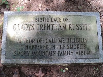 Gladys Trentham Russell Marker image. Click for full size.