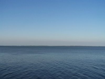 3 miles wide from Dolphin Head to Parris Island, seen in far distance image. Click for full size.