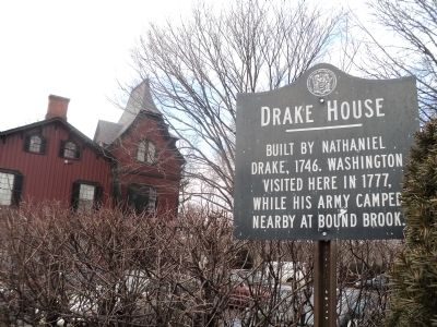 Drake House Marker image. Click for full size.