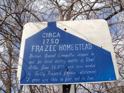 Frazee Homestead Marker image. Click for full size.