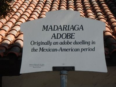 Madariaga Adobe Marker image. Click for full size.