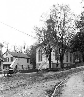 First Baptist Church of Port Jefferson image. Click for full size.