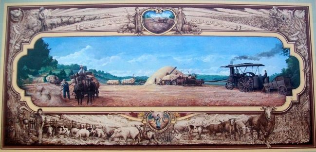 Early Agriculture Mural image. Click for full size.