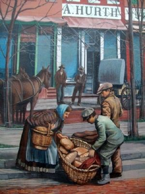 Market Square Mural Detail image. Click for full size.