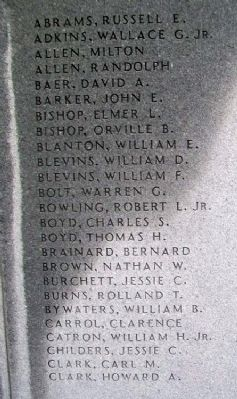 Boyd County War Memorial image. Click for full size.