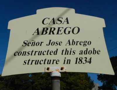 Casa Abrego Marker image. Click for full size.