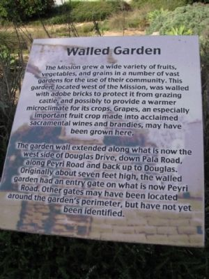 Walled Garden Marker image. Click for full size.