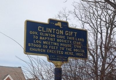 Clinton Gift Marker image. Click for full size.