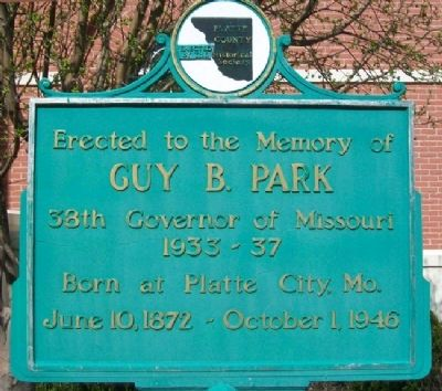 Guy B. Park Marker image. Click for full size.